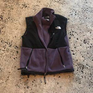 North face purple vest